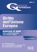 I Quaderni dell'aspirante Avvocato - Diritto dell'Unione Europea - Redazioni Edizioni Simone