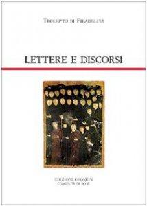 Copertina di 'Lettere e discorsi'