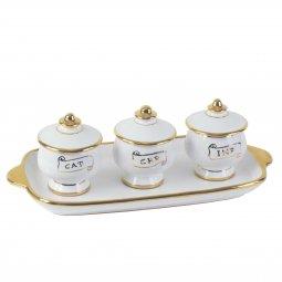 Copertina di 'Set Oli Piccolo - Modello Bianco oro'