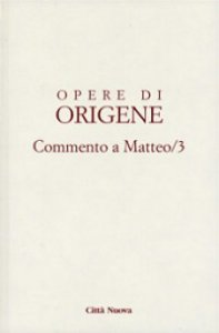 Copertina di 'Opere di Origene. Vol.11.3'