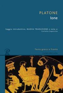 Copertina di 'Ione. Testo greco a fronte. Ediz. bilingue'