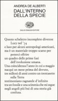 Dall'interno della specie - De Alberti Andrea