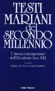 Copertina di 'Testi mariani del secondo millennio'