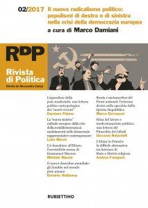 Copertina di 'Rivista di Politica 2/2017'