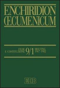 Copertina di 'Enchiridion Oecumenicum 9/1'