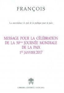 Copertina di 'Message pour la célébration de la 50e Journée mondiale de la paix'