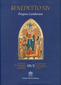 Copertina di 'De Servorum Dei Beatificatione et Beatorum Canonizatione'