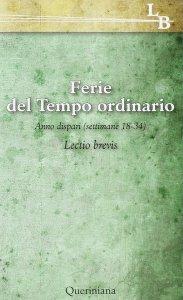 Copertina di 'Lectio divina per ogni giorno dell'anno vol.18'