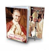 Libretto con rosario Papa Paolo VI - italiano