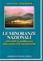 Le minoranze nazionali - Anna Paola Peratoner