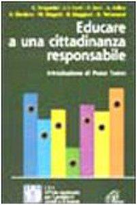 Copertina di 'Educare a una cittadinanza responsabile'