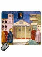 """Mousepad """"Omaggio dell'uomo semplice"""" - Giotto"""