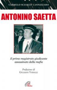 Copertina di 'Antonino Saetta'