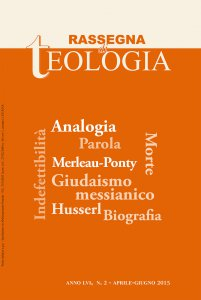 Rassegna di Teologia 2015 - n. 2