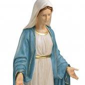 "Immagine di 'Statua in resina colorata ""Madonna di Lourdes"" - altezza 110 cm'"
