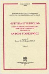 Copertina di 'Iustitia et iudicium'