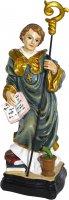 Statua San Benedetto da 12 cm in confezione regalo con immaginetta di  su LibreriadelSanto.it