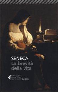 Copertina di 'La brevità della vita. Testo latino a fronte'