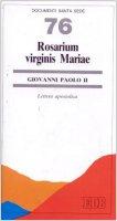 Rosarium virginis Mariae. Lettera apostolica - Giovanni Paolo II