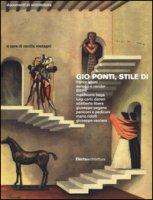 Gio Ponti, stile di. Ediz. illustrata