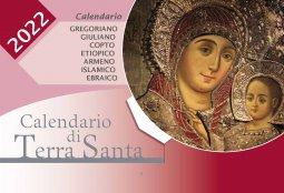 Copertina di 'Calendario di Terra Santa 2022'
