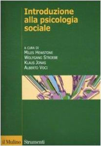 Copertina di 'Introduzione alla psicologia sociale'