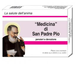 Copertina di 'Medicina di San Padre Pio'
