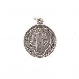 Copertina di 'Medaglietta di San Benedetto in nikel - diametro 1,7 cm'