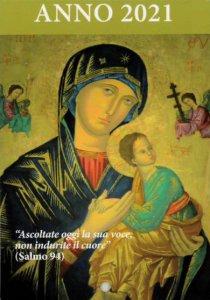 Copertina di 'Calendario liturgico dell'ascolto 2021. Madonna del Perpetuo Soccorso'