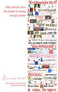 Copertina di 'Joannes XXIII. Annali della fondazione Papa Giovanni XXIII Bergamo (2020)'