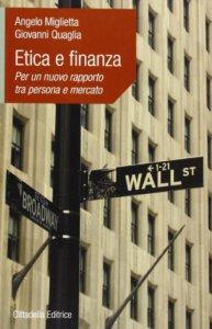 Copertina di 'Etica e finanza'
