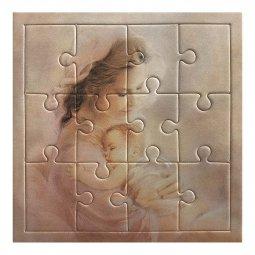 """Copertina di 'Mini puzzle """"Madonna col Bambino"""" - 12 pezzi'"""