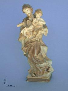 Copertina di 'Statua San Giuseppe con Gesù bambino'