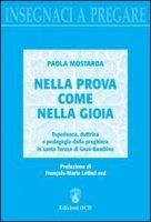 Nella prova come nella gioia - Paola Mostarda