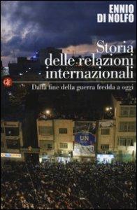 Copertina di 'Storia delle relazioni internazionali'
