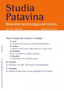 Copertina di 'Studia Patavina 2012/1'