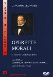 Copertina di 'Operette morali. Con DVD video'