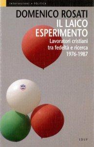 Copertina di 'Il laico esperimento'