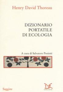 Copertina di 'Dizionario portatile di ecologia'