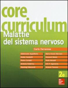 Copertina di 'Core curriculum. Malattie del sistema nervoso'