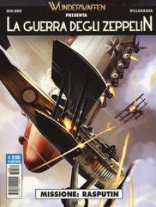 Copertina di 'La guerra degli zeppelin'