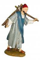 Immagine di 'Pastore con legna Linea Martino Landi - presepe da 12 cm'