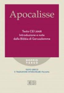 Copertina di 'Apocalisse Testo CEI 2008'