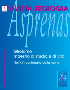 Copertina di 'Asprenas n. 3/2020'