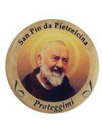 Adesivo San Pio da Pietrelcina (10 pezzi) di  su LibreriadelSanto.it