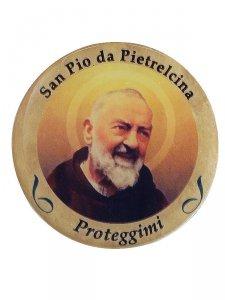 Copertina di 'Adesivo San Pio da Pietrelcina (10 pezzi)'