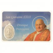 Card medaglia Giovanni XXIII (10 pezzi) di  su LibreriadelSanto.it
