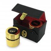 Immagine di 'Astuccio ( kit celebrazione messa) con due vasetti dorati'
