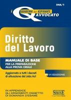 I quaderni dell'aspirante Avvocato - Diritto del Lavoro - Redazioni Edizioni Simone