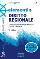 Elementi di Diritto Regionale - Redazioni Edizioni Simone